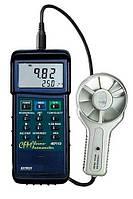Анемометр CFM с металлическим лопастным колесом для работы в тяжелых условиях Extech 407113