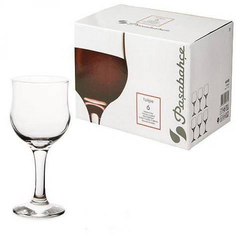 Бокал для красного вина Pasabahce Tulipe, 240 мл (h=165мм,d=70х65мм) 44163, фото 2