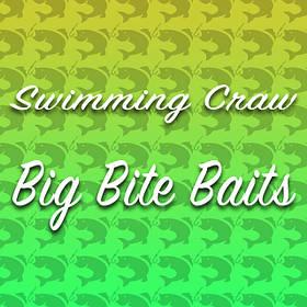 Силикон Big Bite Baits Swimming Craw