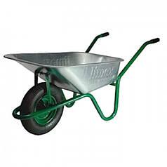 Садовая тачка LIMEX 90/160 Зеленая