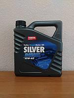 Моторное масло Teboil Silver Diesel 10W-40 (4л.)/ полусинтетика для дизельных двигателей легковых авто