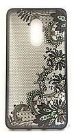 Чехол Rock Tatoo Art Case Xiaomi Redmi Note 4 Color Flowers