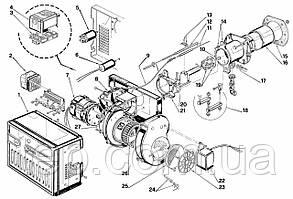 Запасные части к горелке Riello 40 FS 8D