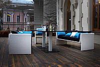 Комплект мебели из искусственного ротанга плетеный