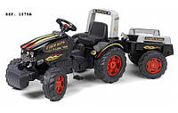 Трактор на педалях FARM KING 900 GM с прицепом