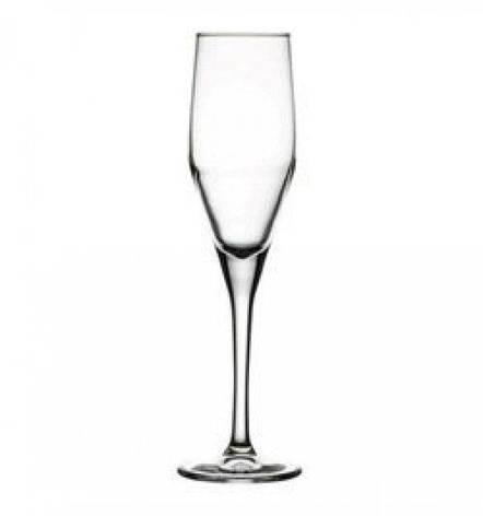 Бокал для шампанского Pasabahce Dream, 215 мл (h=244мм,d=52х70мм), 2 шт. 44591, фото 2