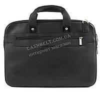 Вместительная мужская сумка для документов с качественной PU кожи CANTLOR art. 704-1 черный
