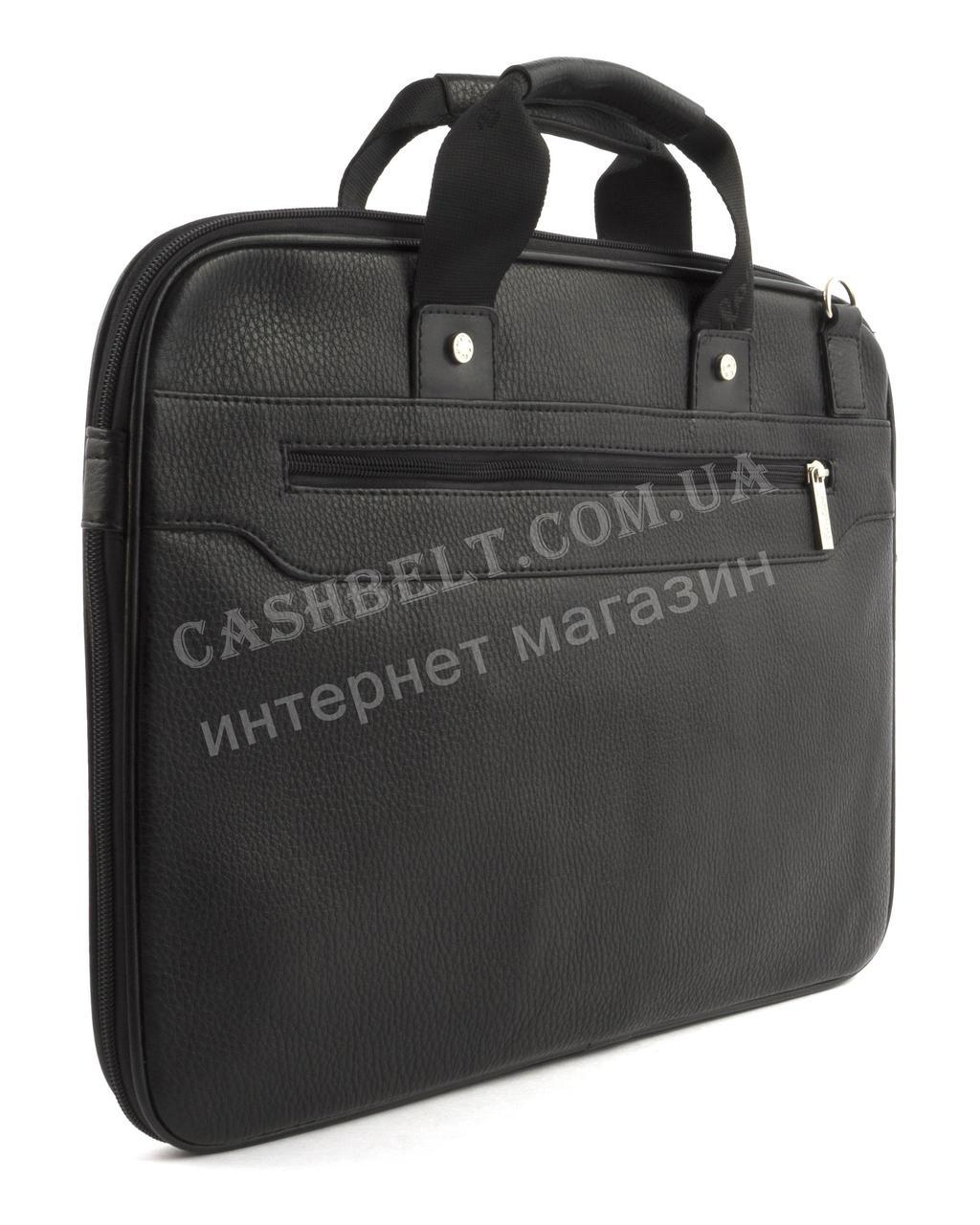 1a4282197044 Вместительная мужская сумка для документов с качественной PU кожи CANTLOR  art. 704-1 черный Вместительная ...