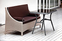 Комплект мебели из ротанга искусственного плетеный