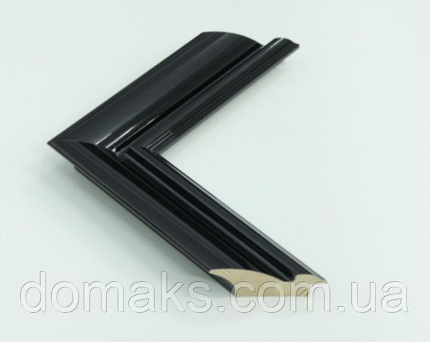 Багет деревянный шириной 54 мм, Италия
