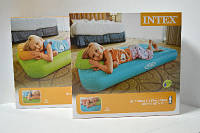 Матрас надувной велюровый Intex детский
