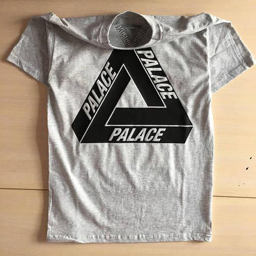 Palace logo Футболка серая / Бирка