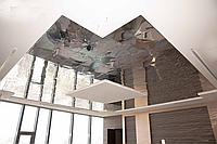 Алюминиевые потолки зеркальные