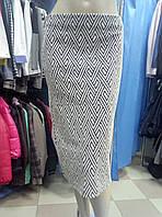 Юбка трикотажная миди от Zara
