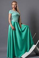 Вечернее длинное женское платье