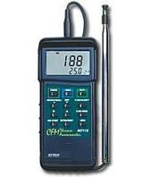 Термоанемометр Extech 407119 CFM с тепловой системой для работы в тяжелых условиях