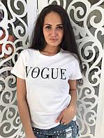 """Женская футболка """" VOGUE """" №40-7796/1"""