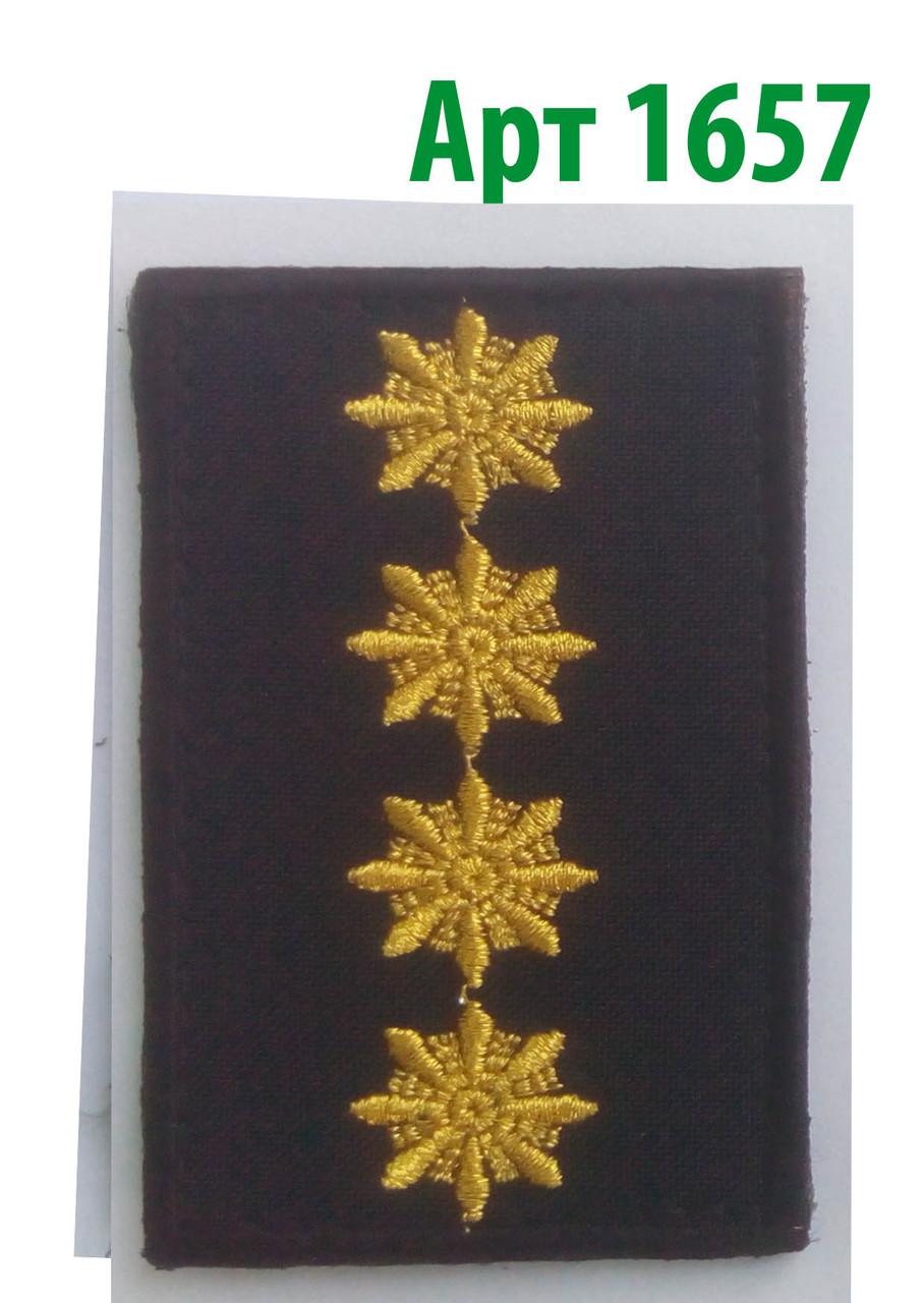 Погон 2017 Капітан Муніципальна поліція