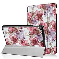 Чехол Slimline Print для Apple iPad 9.7 2017 Flowers