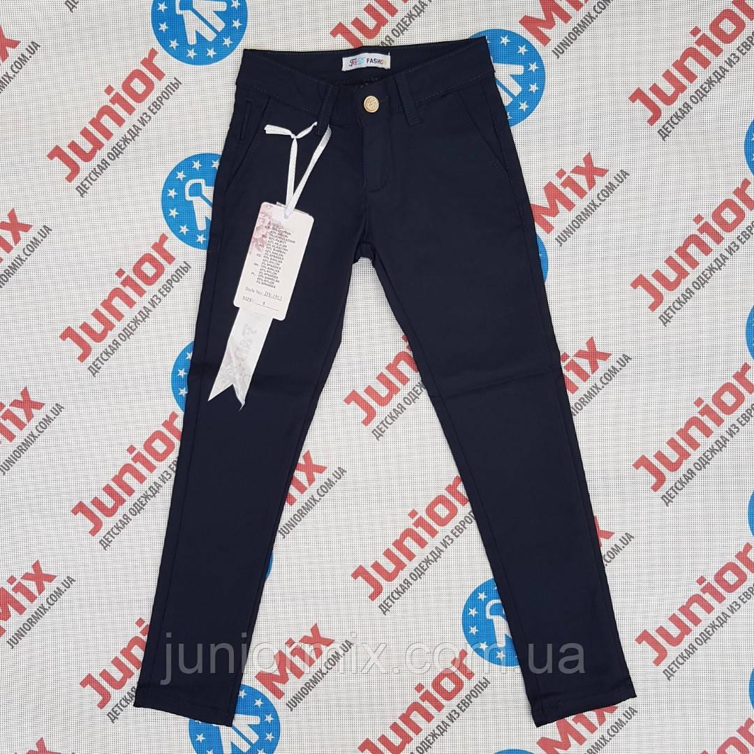 Шкільні брюки синього кольору на дівчинку підлітка F&D