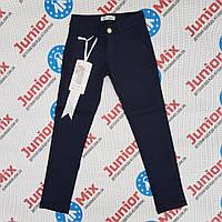 Школьные  брюки  синего цвета на девочку подростка F&D