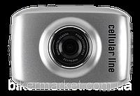 Видеокамера Interphone Mini Motion Camera LCD, серый