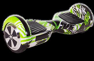 Гироскутер Smart Balance U3 - 6,5 LED Jungle (зеленый)