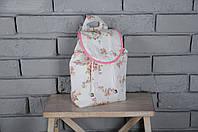 """Детский рюкзак для девочки """"Цветы"""""""