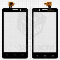 Тачскрин (сенсор) для мобильного телефона VINUS UMI X1, черный