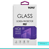 Защитное стекло TOTO 2,5D Full cover Tempered Glass front and back for iPhone 7 Plus
