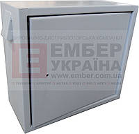 БОКС АНТИВАНДАЛЬНЫЙ БК-550-З-2 2U 1.5 ММ, ПЕТЛИ, фото 1