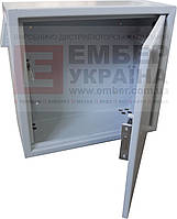 АНТИВАНДАЛЬНЫЙ БОКС БК-550-З-2 3U 1.5 ММ, ПЕТЛИ, фото 1