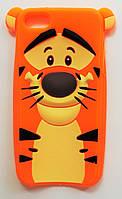 Чехол на Айфон 5/5s/SE Disney faces мягкий Силикон Тигра, фото 1