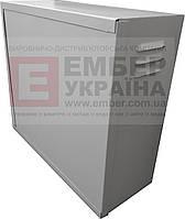 АНТИВАНДАЛЬНЫЙ БОКС БК-550-З-1 3U 1.5 ММ, ПЕНАЛ, фото 1
