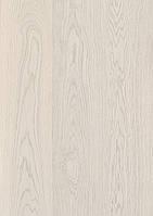 Паркетная доска BeFag Дуб Натур жемчужно-белый, лак