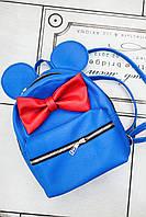 Рюкзак Ya v styli синій з вушками, фото 1