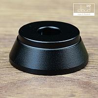 Алюминиевая подставка под атомайзеры - чёрная