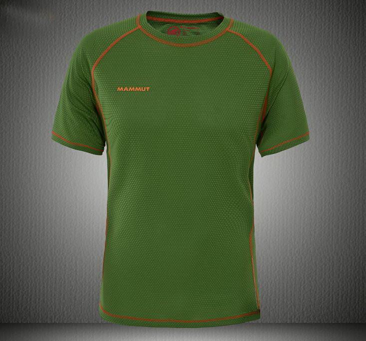 Потовыводящие дышащие мужские футболки MAMMUT. Стильный дизайн. Хорошее  качество. Доступная цена. Код b29d4caff2497