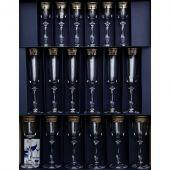 Bohemia 40600-43249-18 Angela Подарочный набор бокалов 18пр, декор платина