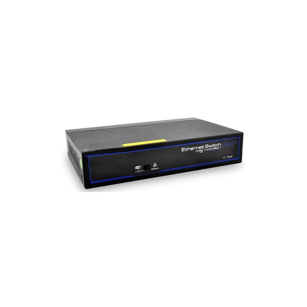 Уличный коммутатор POE FoxGate S6005S-I (4 PoE x 100 Мбит/с)