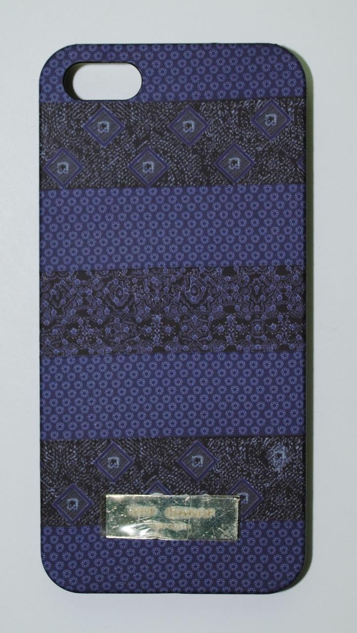 Чехол на Айфон 5/5s/SE Ted Baker soft touch стильный Пластик Узоры