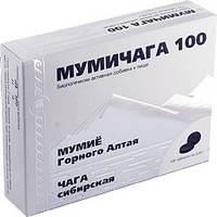 Мумичага (мумие с чагой; раны, язвы, ожоги, травмы, переломы, инфекции, онкология, диабет, отравления )