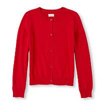 Школьная кофта красная на девочку 7-8 лет RUBY The Children`s Place (США)