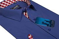 """Мужская рубашка с коротким рукавом """"Castello -Royal"""""""