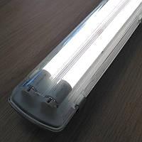 Комплект светильник + 2 LED лампы 1200 мм 18W 4000К пылевлагозащищенный IP65 !