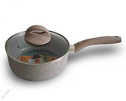 Сотейник с мраморным покрытием Marble saucepan