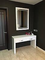 Мебель для спальни белая с 3D эффектом