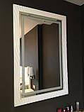 Мебель для спальни белая, туалетный столик с зеркалом и подсветкой, фото 2