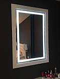 Мебель для спальни белая, туалетный столик с зеркалом и подсветкой, фото 3