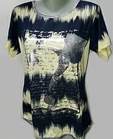 Качественная женская футболка из ХБ  12-501